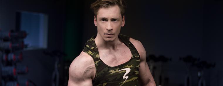 Karl Wallner Fitness Muskelaufbau