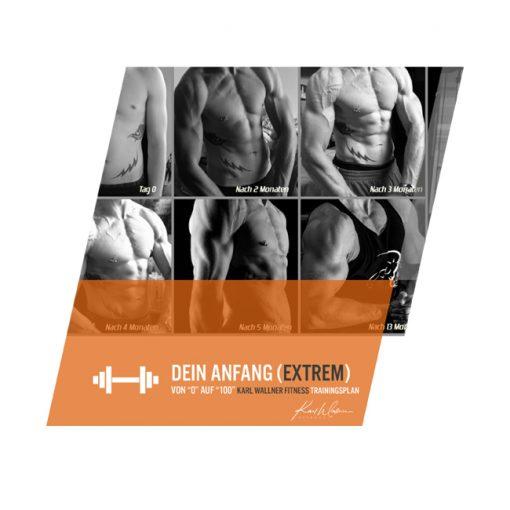 Extremer Trainingsplan für Anfänger als Download
