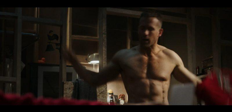 Ryan Reynolds Body Körper im Deadpool Film nackt