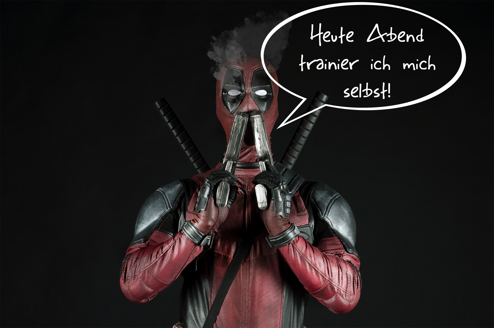 Deadpool Spruch Marvel