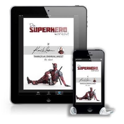 Das Superhero Ryan Reynolds Deadpool 3 Workout